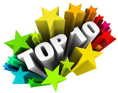 comparatif - top 10