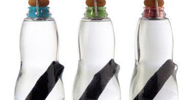 Les filtres à bouteilles d'eau permettent d'économiser du temps et de l'énergie