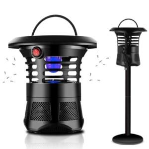lampe led ultraviolette jardin exterieur moustique