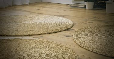 tapis rond coco